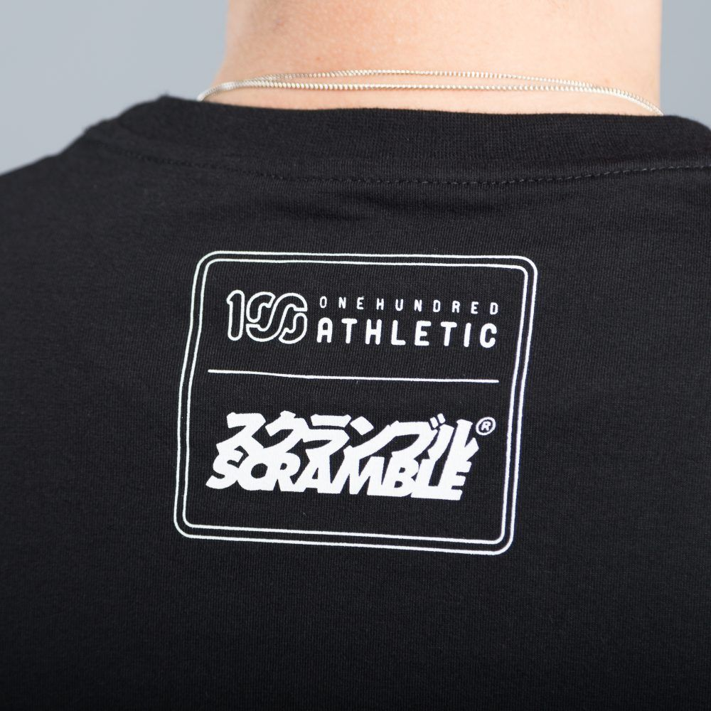 Scramble x 100Athletic Tee - Black