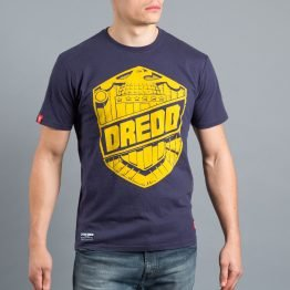 Scramble x Judge Dredd - Dredd Badge T-Shirt