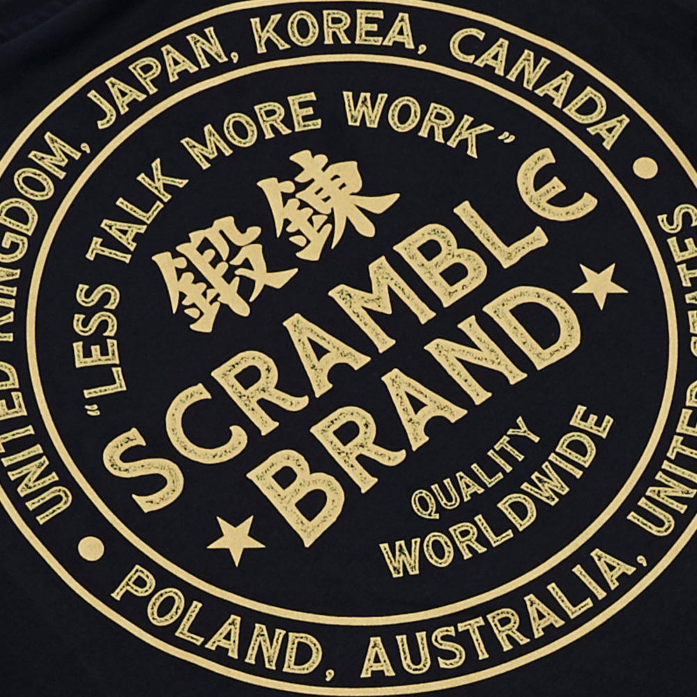 Scramble More Work Tee - Black