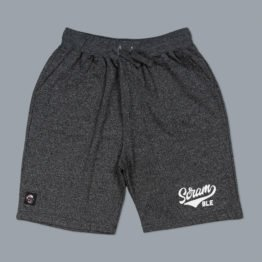 Scramble Kihon Casual Short - Grey Marl