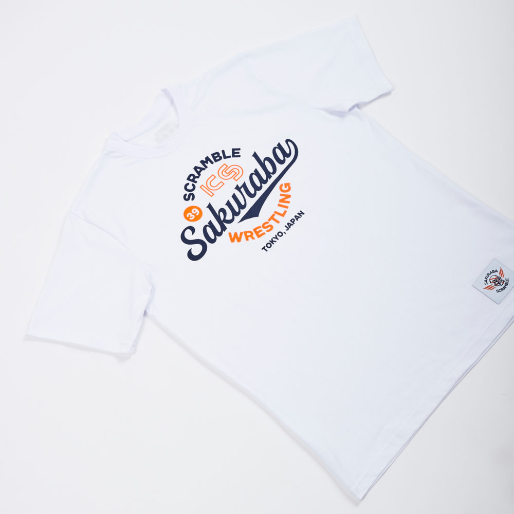 KS x Scramble Wrestling Tee - White