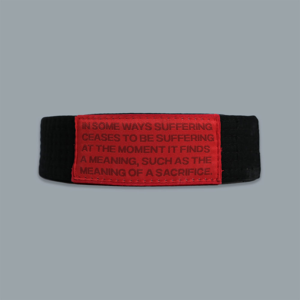Scramble Ceremonial Black Belt